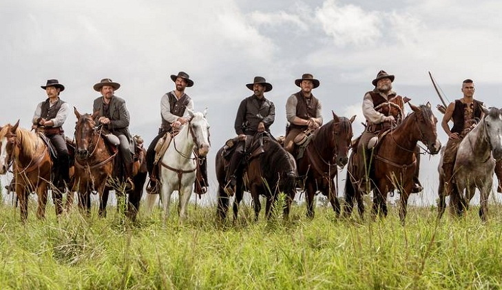 'The Magnificent Seven' tops North American box office