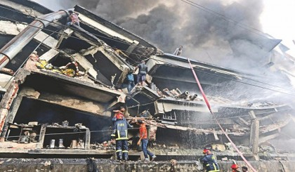 Three more decomposed bodies of Tampaco fire victims recovered
