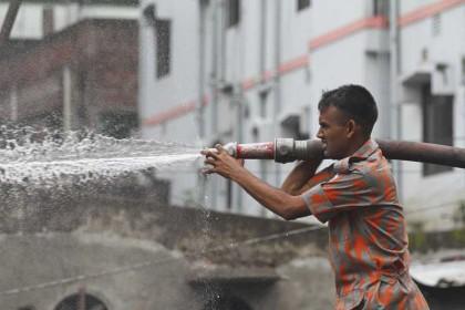 Mohakhali Bon Bhaban fire doused