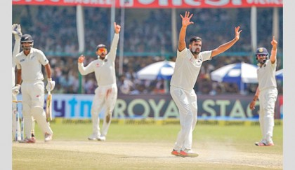 Ashwin six-for helps India win landmark 500th Test