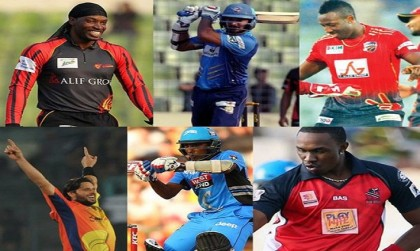 Afridi goes to Rangpur, Gayle to play for Barisal in BPL-4