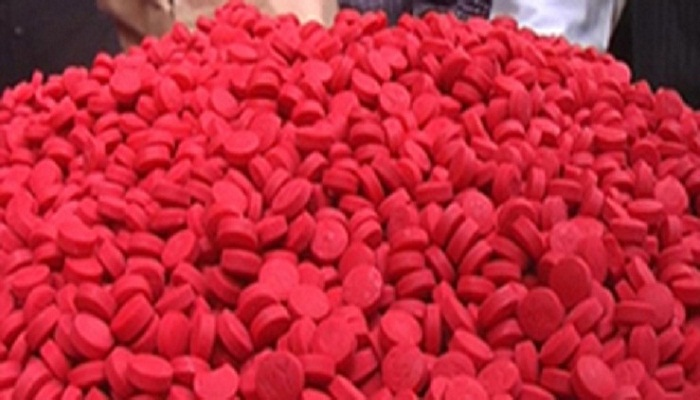 9 lakh Yaba pills recovered in Teknaf