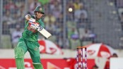 Bangladesh lose four, Shakib and Sabbir trying for revival