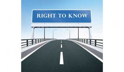 Int'l Right to Know Day being observed today
