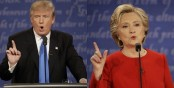 Presidential debate: Trump-Clinton showdown breaks TV record