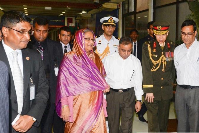 Prime Minister returns home