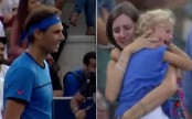 Rafael Nadal halts match so woman can hunt for lost child in crowd (watch video)