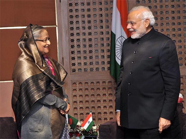 Narendra Modi sends bouquet to PM on birthday