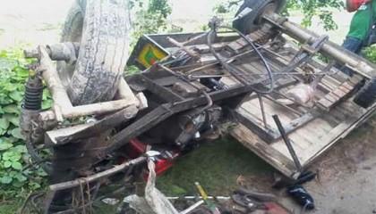 Pickup-human hauler collision leaves 5 dead in Mymensingh