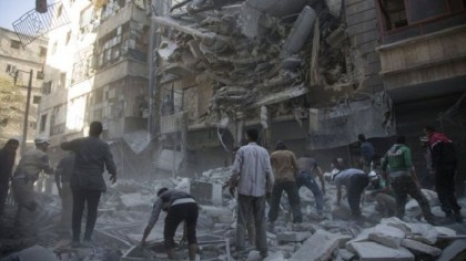 Russia rejects US calls to halt bombing eastern Aleppo