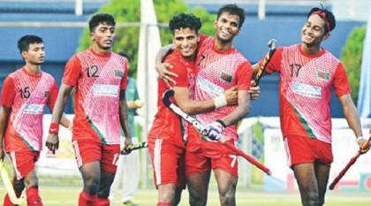 Bangladesh finish runners-up in U18 Asia Cup Hockey