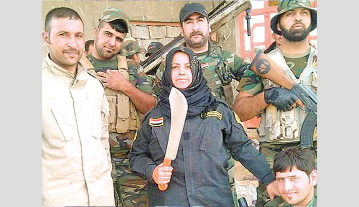 Iraqi women 'cooked heads of IS fighters'