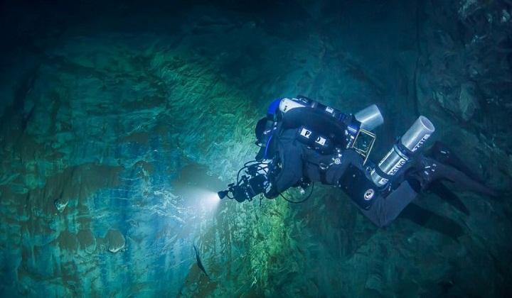 Deepest underwater cave found