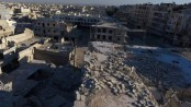 Aleppo hospital 'hit by barrel bombs'