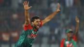Mashrafe gives Bangladesh early breakthrough
