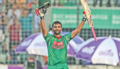 Tamim's bat smiles again