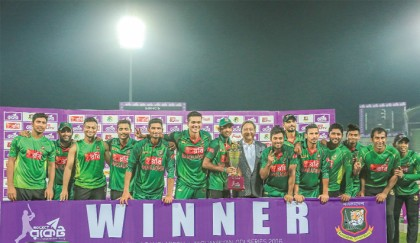 Tigers seal ODI series against Afghans