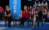 Schoolgirl's powerful question to Clinton