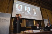 Nobel Prize in chemistry given to three scientists for building 'molecular machines'