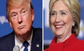 Clinton leads Trump by four points in latest national poll