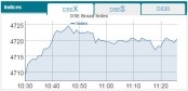 DSE, CSE up at opening