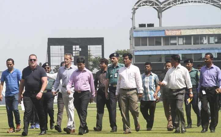 Tight security measures in Chittagong during BD-ENG series; CMP