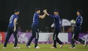 England win by 21 runs