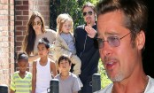 Brad Pitt meets his children for first time since divorce