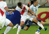 Peru 2-2 Argentina: Funes Mori goes from hero to villain in draw (watch goals)