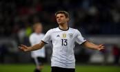 Mueller brace inspires impressive Germany win