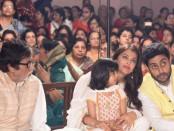 Aaradhya celebrates Durga Ashtami with Aishwarya, Amitabh Bachchan (see 5 pics)