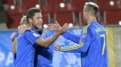 Ukraine end winless run with 3-0 victory over Kosovo