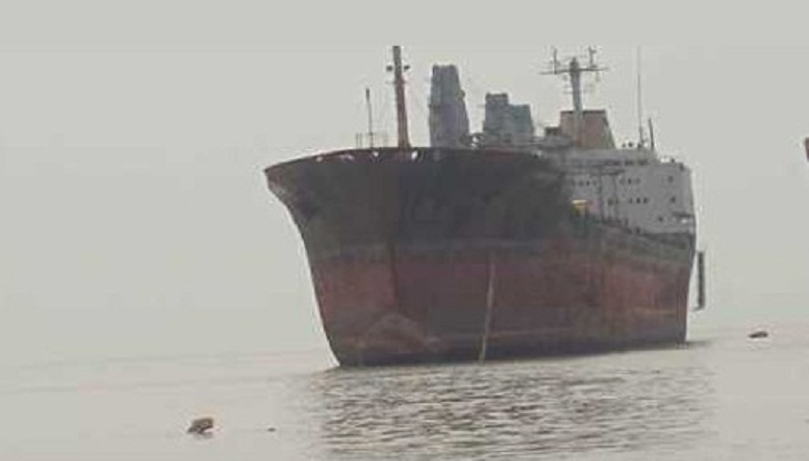 Vessel carrying 850 tonnes of clinker sinks in Rupsha