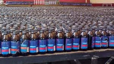 800 bottles of Phensidyl seized in Chapainawabganj