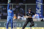 India restrict NZ to 242/9 after Williamson ton