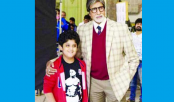 New kid grabs Senior Bachchan`s attention!