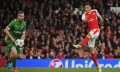 Champions League: Ozil scores a hat-trick as Arsenal hit six against Ludogorets