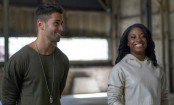 Simone Biles makes music video debut