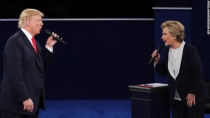Hillary Clinton wins final presidential debate: CNN