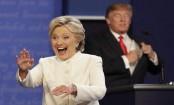 Trump, Clinton exchange acid jokes at New York dinner