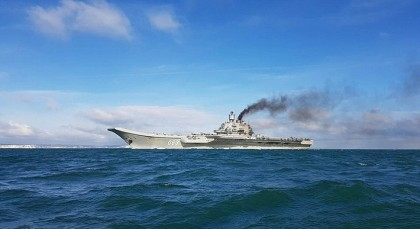 Russian warships steam past the UK