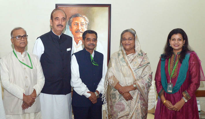 Congress leader Azad carries special message for Sheikh Hasina from Sonia