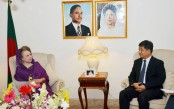 Chinese communist party leader Zheng Ziaosong meets Khaleda