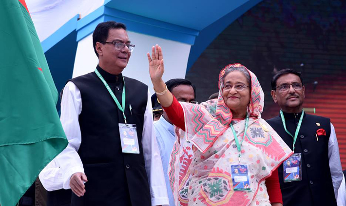 'My duty is over,' says Sheikh Hasina