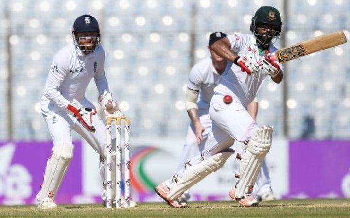 Bangladesh 114-5 on day 4, chasing 286 to beat England