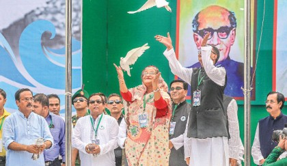 Hasina vows to end poverty