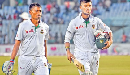 Hathurusingha gives full marks to 'solid' Sabbir
