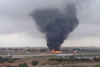 Five military officials on EU mission dead as plane crashes in Malta (watch video)