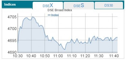 DSE, CSE see up at opening