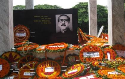 Hasina, new AL committee pay homage to Bangabandhu